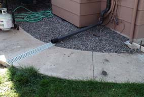 Chase drain systems denver for Residential french drain