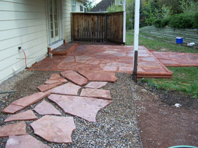 Flagstone Patio