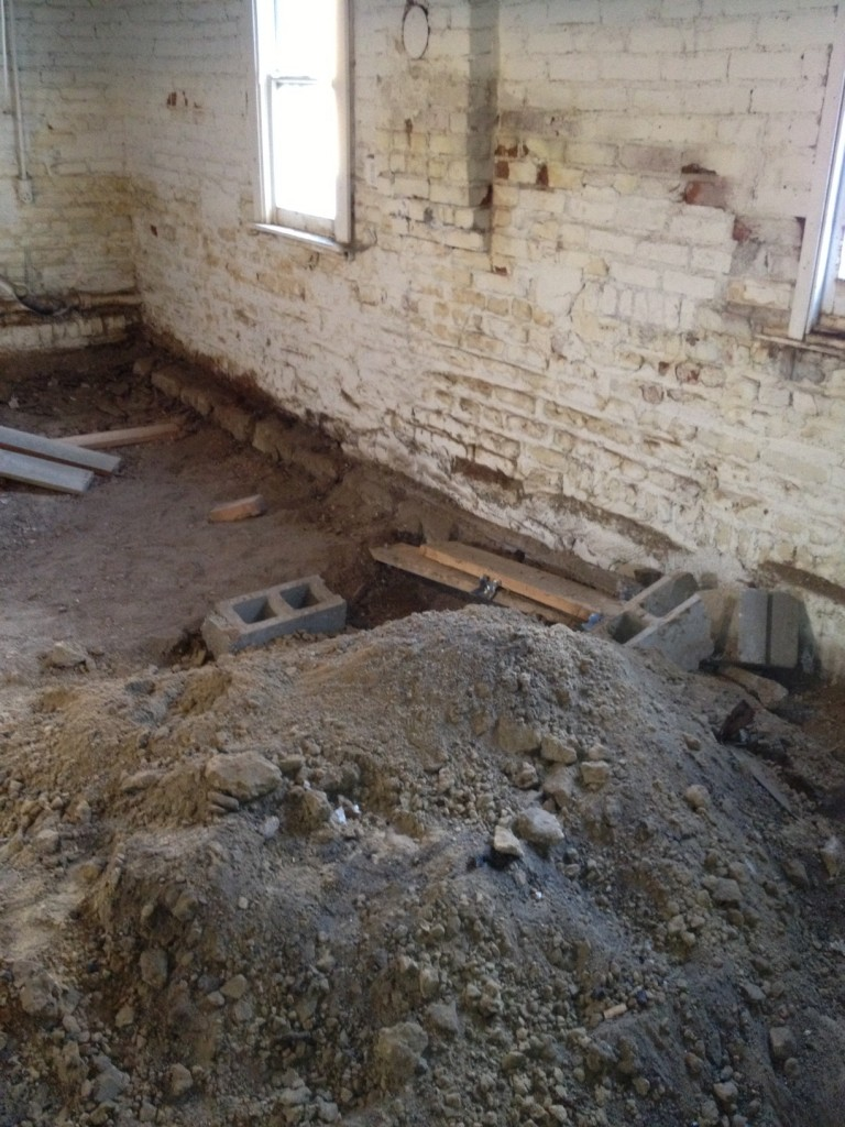 Crawl space to basement denver bruce randolph crawl Concrete crawl space floor